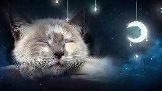 Relaxing Lullaby for Cat and Kitten  (with Cat purring sounds)  CAT MUSIC  1 HOUR