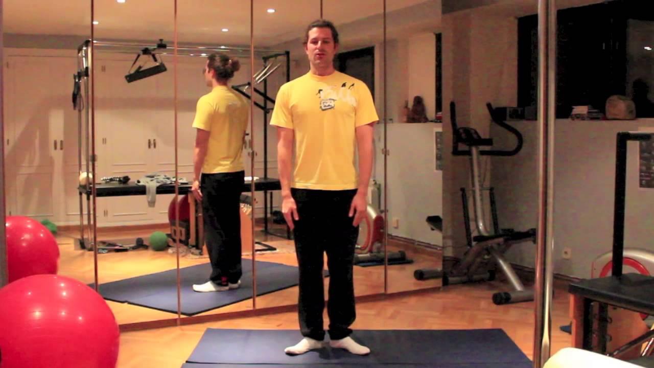 Como calentar antes de hacer ejercicio con pesas