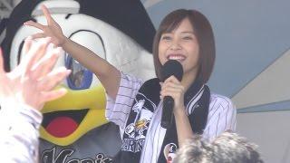 20160423 QVCマリンフィールド Ballpark stageにて佐野ひなこさんのトー...