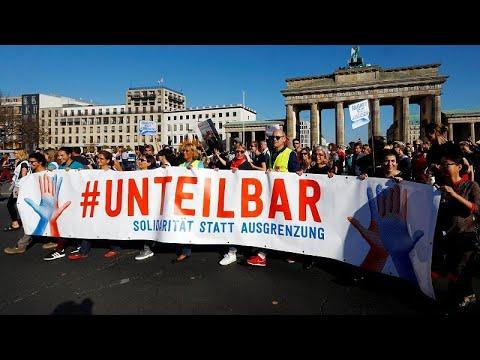 شاهد: مظاهرت في ألمانيا ضد اليمين المتطرف  - 16:53-2018 / 10 / 13