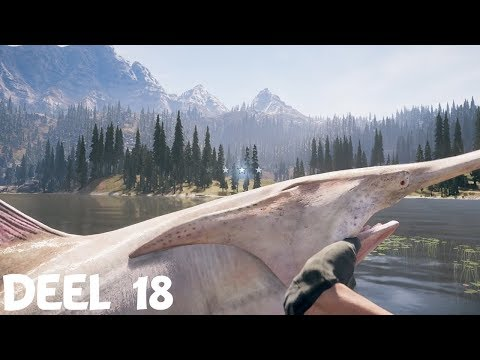 ALBINOLEPELSTEUR VANGEN! // FAR CRY 5 #18