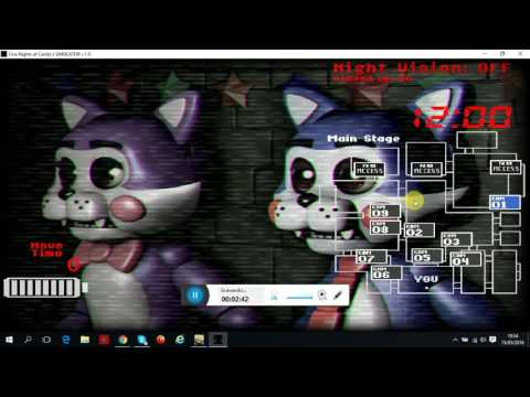 Five night at Candy's simulator