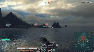 Добрый рандом. World of Warships.