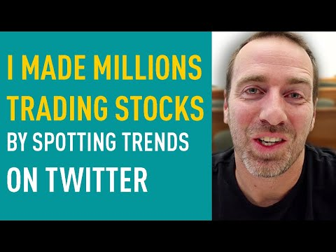 I Turned $20k into $10 MILLION by Spotting Twitter Trends — Stock Picking Strategy