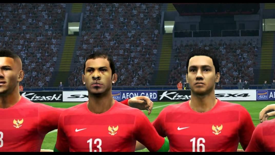 PES 2013 Indonesia vs Korea Selatan - YouTube