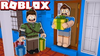 I BOUGHT A NEW HOUSE AND GOT A PRESENT AT ROBLOX! (ADOPT ME)