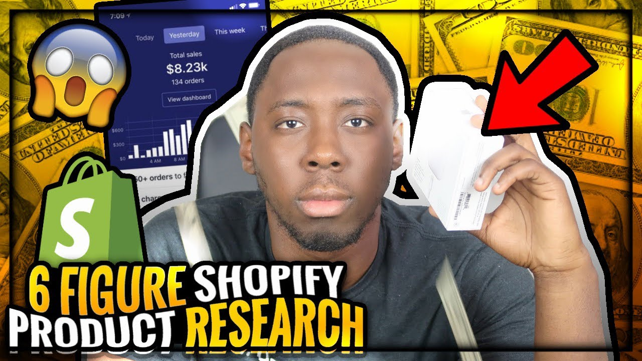 Shopify & AliExpress Dropshipping Product Research 2019 - Google Ads Method