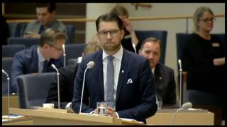 jsses batra gr bort sig i riksdagen tips till moderaterna byt partiledare