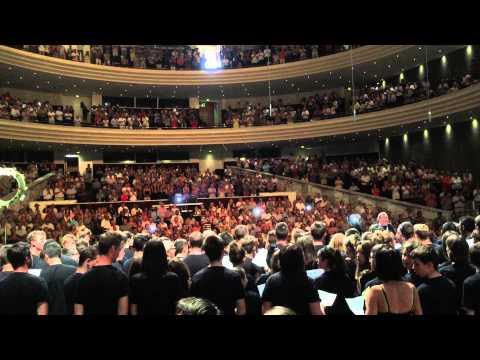 2015 - Congrès des MFR à Nantes - Chorale des jeunes-1