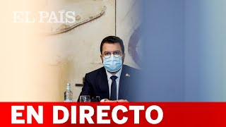 DIRECTO #INDULTOS   Declaración institucional de ARAGONÈS