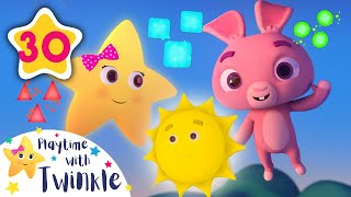 You Are My Sunshine - Rabbits Learn Shapes | Kids Songs & Nursery Rhymes | Learn with Twinkle