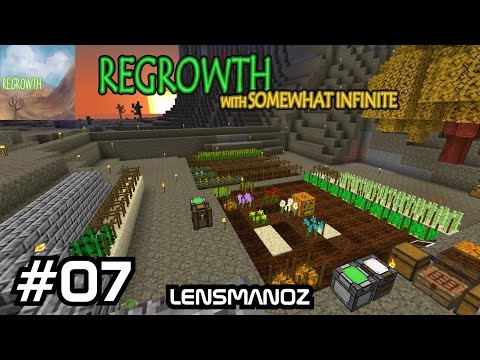 Minecraft - Regrowth with SomewhatInfinte - Ep 7 - Finally something useful
