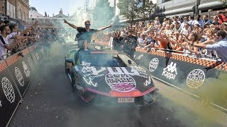 Gumball 3000 2018 starting grid with my 3 supercars!