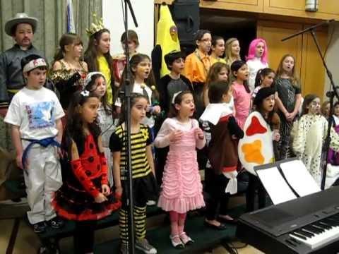 Ramaz Lower School Choir: Purim 5772