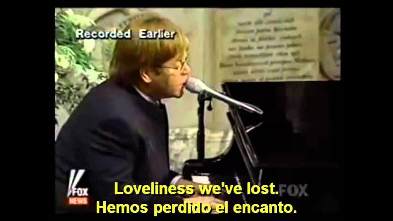 Download ELTON JOHN   CANDLE IN THE WIND (English   Espaol   Lyrics   Subs)