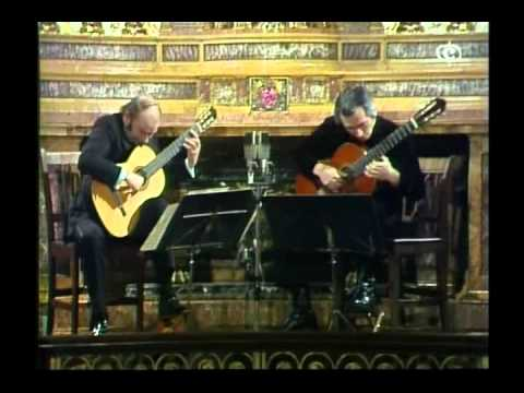 Duo Classical Guitar - Julian Bream & John Williams - Guitar Recital.avi
