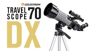 Travel Scope 70 DX with Smartphone Adapter