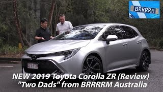"NEW 2019 Toyota Corolla ZR Hatch (""Two Dads"" Review) 