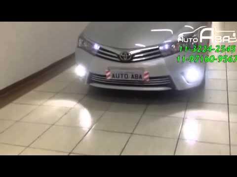 Lâmpadas Super Leds Toyota Corolla   AutoAba Acessórios   YouTube
