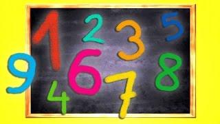 Aprender los números (en inglés y español) con música para niños