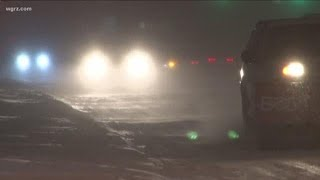 Tracking the winter storm in Western New York