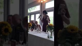 Maid of Honor Speech Goals
