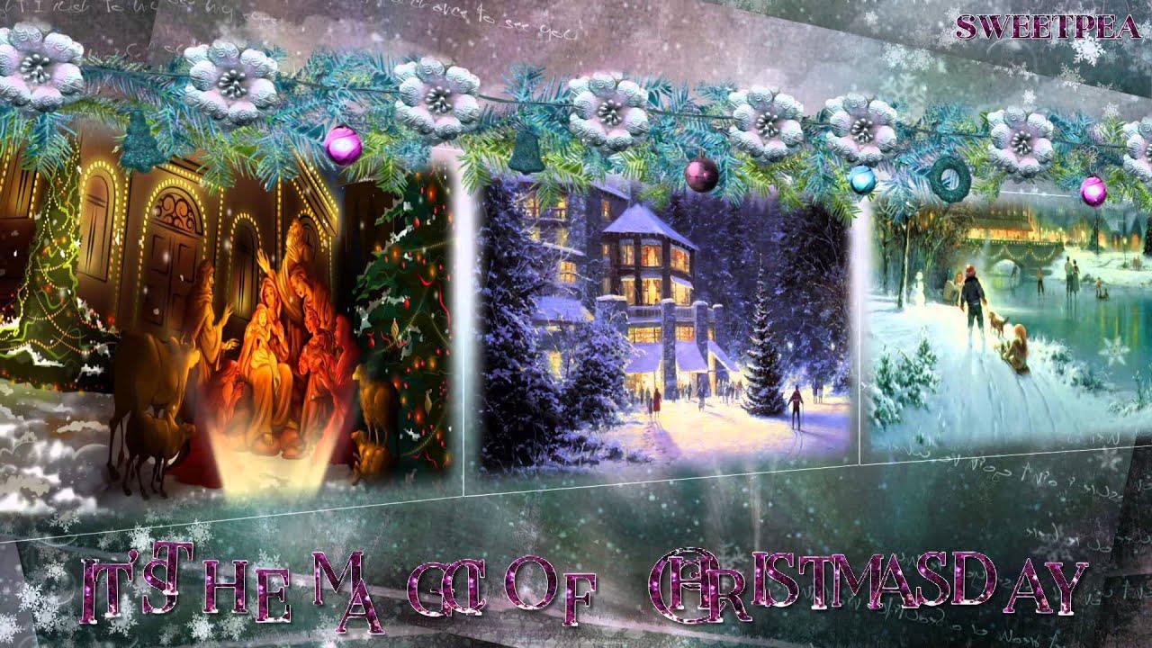 Celine Dion ♫ The Magic of Christmas Day (God Bless Us Everyone)☆ʟʏʀɪᴄ ᴠɪᴅᴇᴏ☆ - YouTube