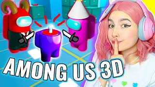 Я ПРЕДАТЕЛЬ в AMONG US 3D 😲 *Roblox*