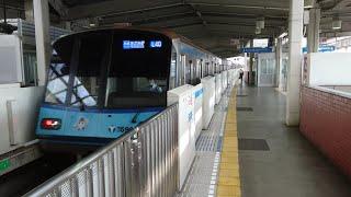 横浜市営地下鉄3000S形3591F 普通あざみ野行き 新羽駅到着