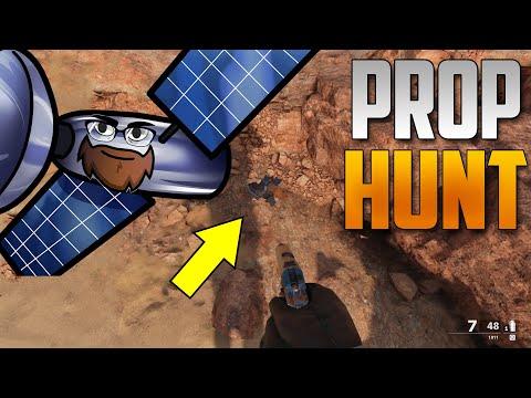 1 vs 13 Prop Hunt Hide & Seek in Cold War - Satellite Strats