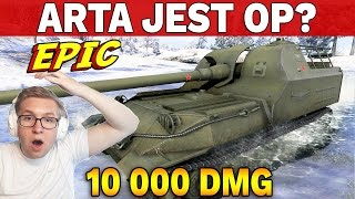 ARTA JEST OP? - 10 000 dmg na Object 261 - World of Tanks