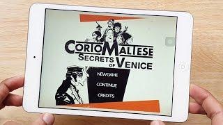 Corto Maltese Secrets of Venice Gameplay iOS & Android iPhone & iPad HD