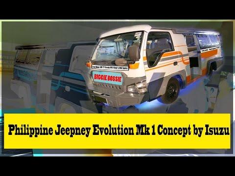 Philippine Jeepney Evolution Mk-1 Concept by Isuzu