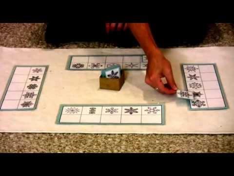 Montessori Sensorial Lesson - Snowflake Matching