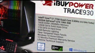 Upgrading iBuyPower Trace 930 with 500GB Samsung EVO 850 SSD Corsair H60 and Toshiba 3 TB HD
