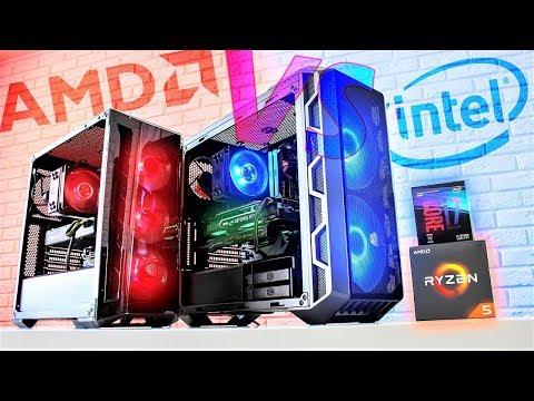 INTEL Привет! AMD-RYZEN ПОКА? Битва сборок!