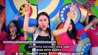 Goyang dua jari - Sandrina ( Official Karaoke )