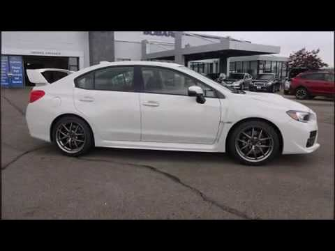 2017 Wrx Limited >> 2017 Subaru WRX STI Limited w/Wing (M6) - YouTube