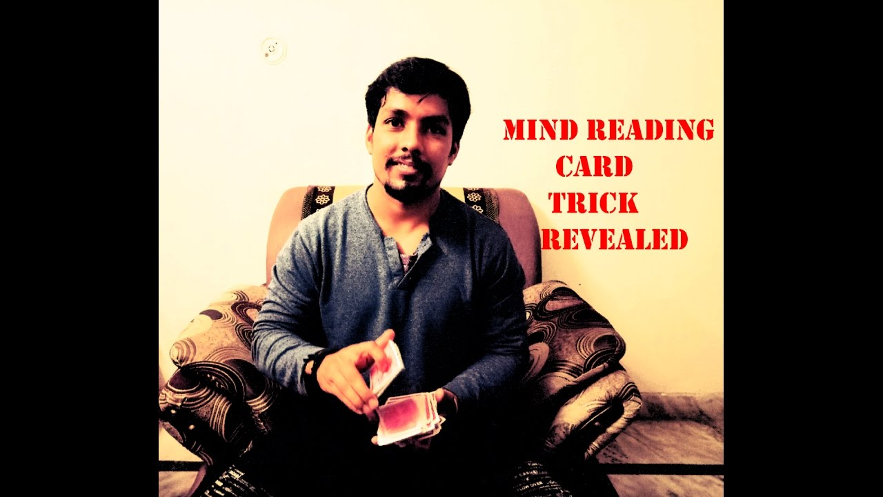Mind Read Card Trick Revealed