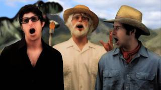 Jurassic Park Theme Song with Lyrics - Goldentusk