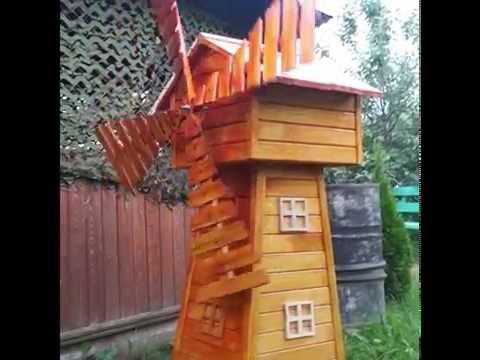 фото мельница своими деревянная руками