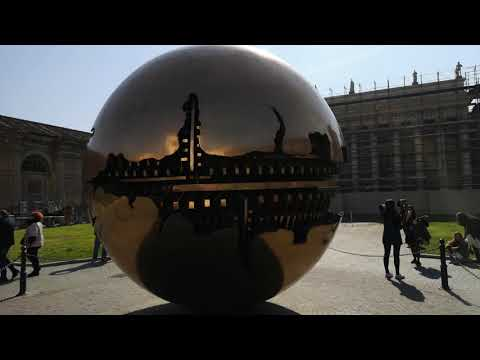 Vatican globe spining ball