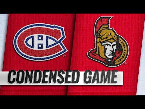 10/20/18 Condensed Game: Canadiens @ Senators