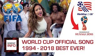 Video LAGU PIALA DUNIA 1994 - 2018 TERBAIK (WORLD CUP SONG 1994 - 2018 BEST EVER) download MP3, 3GP, MP4, WEBM, AVI, FLV September 2018