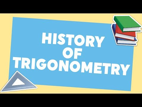 the history of trigonometry Learn trigonometry for free—right triangles, the unit circle, graphs, identities, and more full curriculum of exercises and videos.