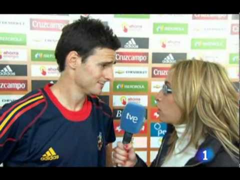 La Furia Roja- Aduriz Post-Lithuania Comments (10/8/10)