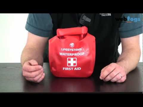Lifesystems Waterproof First Aid Kit - Ideal for Canoeists, Kayakers and any other watersport