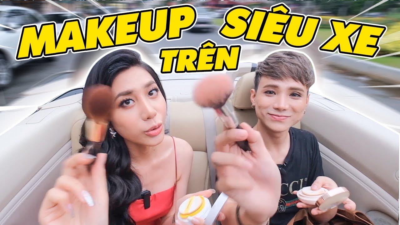 Makeup + Dạo phố trên Siêu Xe Mui Trần ft. Khanh Van Tran