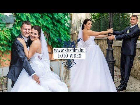 Brigitta és Péter esküvője Kisvárdán a Parish Bull étteremben