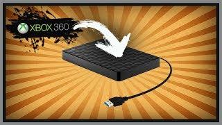 Como Configurar um HD USB para usar no XBOX 360 RGH bem Fácil ▪️ (nº1209)